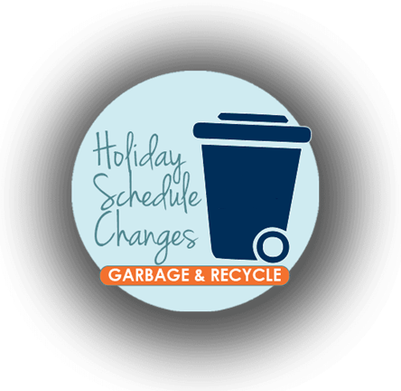 Updated Trash Schedule for the week of February 20th Click for this weeks Public Works Trash Schedule.