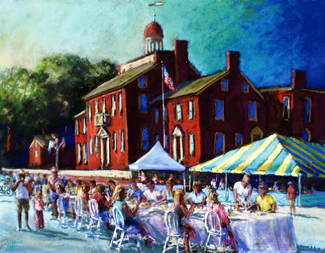 Dining in the Street Courthouse