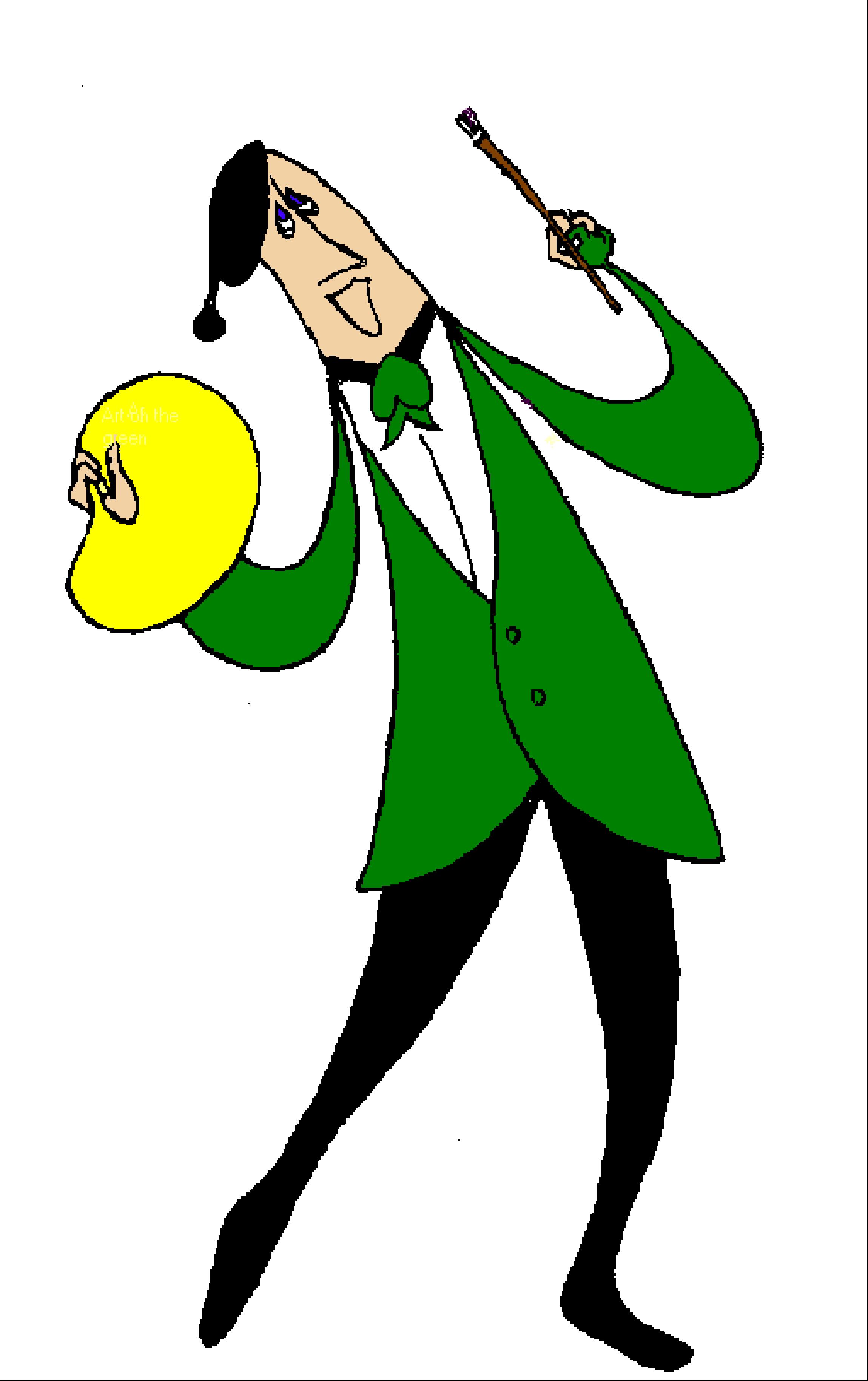Art on the Green Man Logo